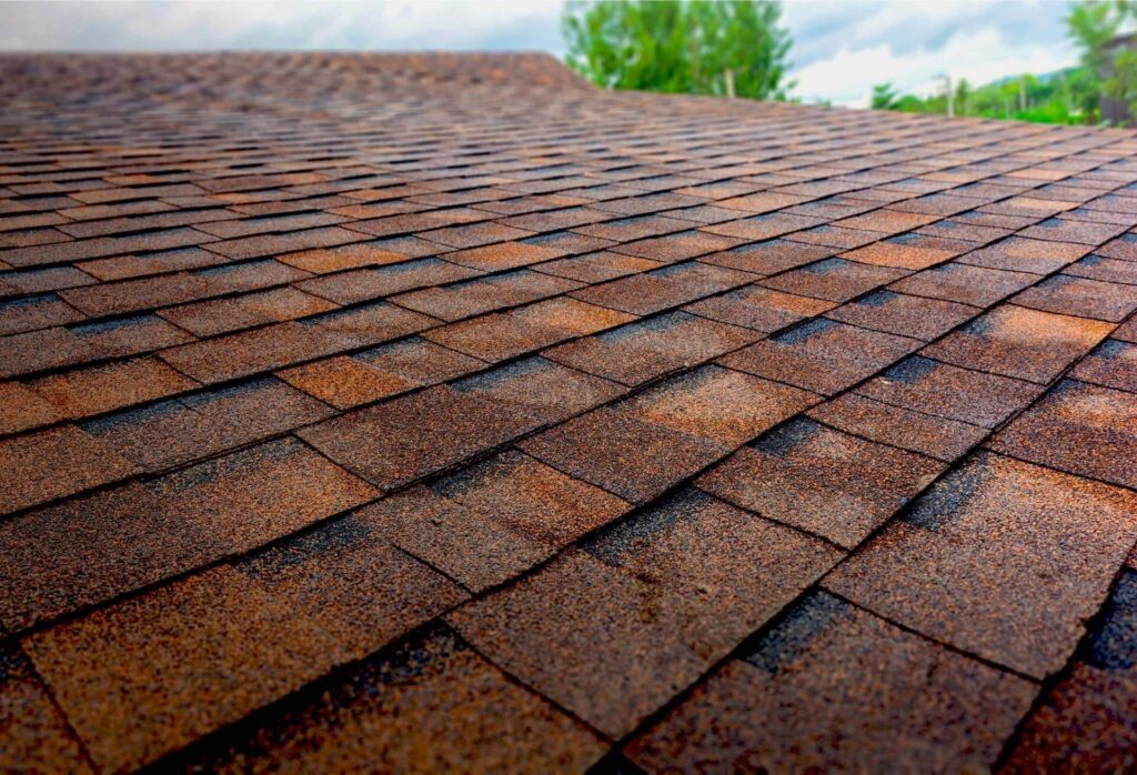 How are roofing shingles made